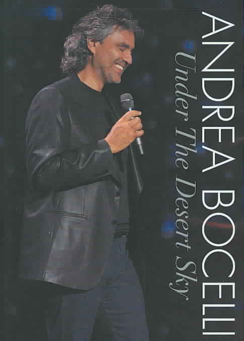 UNDER THE DESERT SKY BY BOCELLI,ANDREA (DVD)